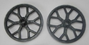 9101-08 Top/bottom main gear - Zębatki