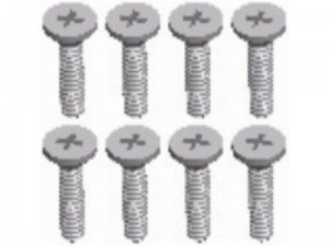 Cross Flat Head Screw M2x8 A202-15 144001