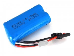 FT007-11 Battery Li-ion 7,4V 700mAh - Pakiet Akumulator Bateria Li-ion 7,4V 700mAh