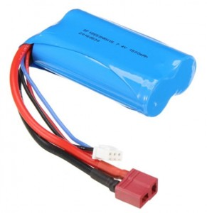 Wltoys 7.4V 1500mAh Battery 12427 12428-0123 12423-0123 144001 Pakiet Akumulator Bateria